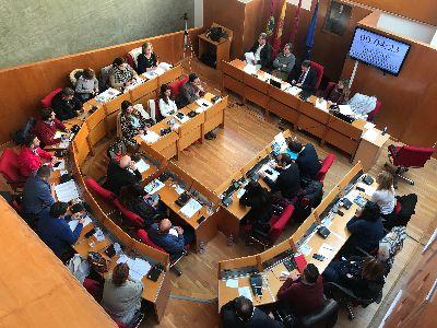 Balance de votaciones del Pleno Extraordinario del Ayuntamiento de Lorca