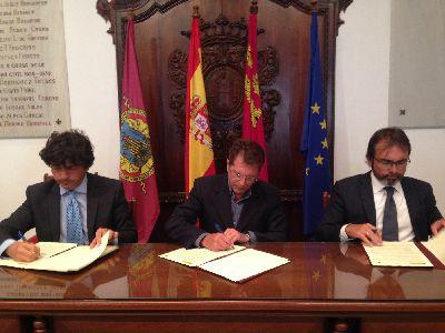 Fomento refuerza su compromiso con la reconstrucción de Lorca mediante la firma de una modificación del convenio para la regeneración y renovación de área urbana