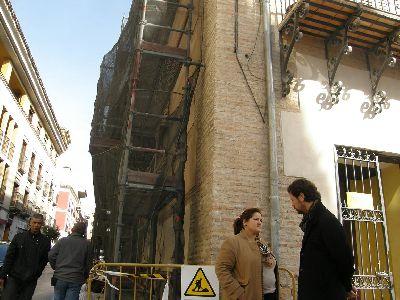 El Palacio de Guevara de Lorca se podrá visitar en Semana Santa tras su restauración por los daños provocados por los seísmos