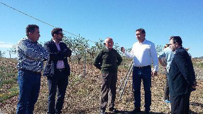 Una inversión de 778.000 euros servirá para dotar de agua potable a más de 150 familias de varios parajes en las pedanías de Nogalte, Béjar, Henares y Zarzalico