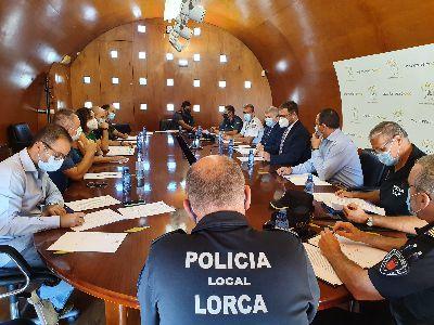 El Ayuntamiento coordina un dispositivo especial de seguridad para la Feria y Fiestas de Lorca