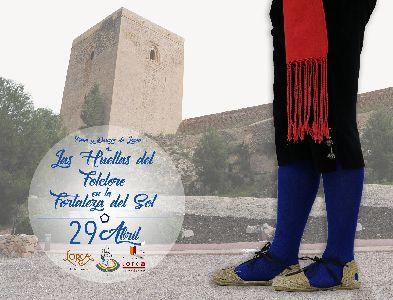 El Castillo de Lorca acogerá la iniciativa ''Las Huellas del Folklore en la Fortaleza del Sol'' el próximo 29 de abril con motivo del Día Internacional de la Danza