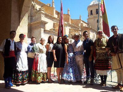 El Festival Internacional de Folclore ''Ciudad de Lorca'' celebra sus bodas de plata con la participación de grupos de Macedonia, Colombia y España