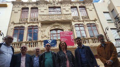 La rehabilitación de la Colegiata de Lorca permite encontrar nuevas pinturas murales en su sacristía