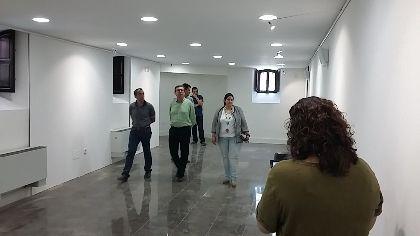 La rehabilitación del Huerto Ruano y su adaptación como espacio expositivo se encuentra al 90% de ejecución