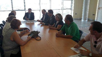 El alcalde integra en la Mesa del Soterramiento a Villaespesa Soterrada, Federación de Asociaciones de Vecinos, ASDIFILOR, Comunidad de Regantes y técnicos municipales