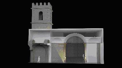 La propuesta para la recuperación de la iglesia de San Pedro, protagonista principal en la V cumbre de las regiones y ciudades de Europa que se celebra en Copenhague