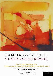 La artista lumbrerense, Yolanda Martínez, expondrá sus ''Encuentros Convergentes'' el Centro Cultural, hasta el próximo 30 de septiembre
