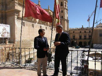 El Alcalde agradece a ElPozo Alimentación su ''compromiso ejemplar'' con la reconstrucción y recuperación de la ciudad tras los terremotos sufridos en 2011