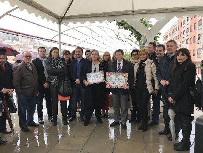La Pasarela y Paseo Alcalde Miguel Navarro Molina rinde homenaje al que fuera Primer Edil de la ciudad de Lorca entre los años 1993 y 2006