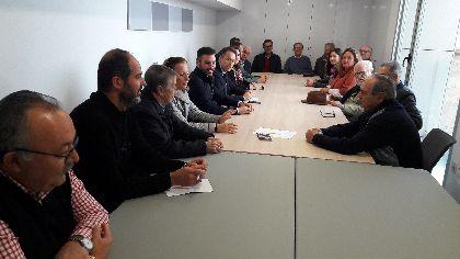 El Alcalde solicita a RTVE la retransmisión de la procesión del próximo Viernes Santo para respaldar la candidatura ante la UNESCO del bordado lorquino de Semana Santa