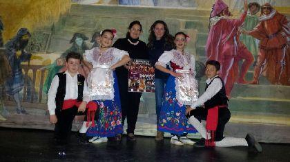 El grupo Coros y Danzas ''Virgen de las Huertas'' presenta su V Muestra Infantil de Folclore Tío Pillo