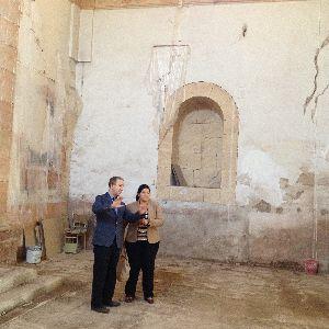 Los trabajos de reparación de la iglesia de San José contemplan la sustitución de la bóveda de la nave central y la recuperación de los elementos más antiguos del templo