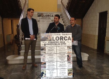 El Club Taurino de Lorca celebra su I Ciclo Cultural Taurino del 4 al 28 de febrero con apoyo del Ayuntamiento