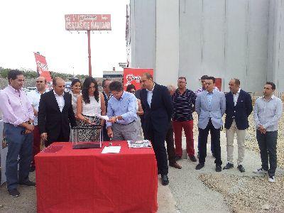 El Alcalde afirma que la labor de los emprendedores lorquinos fortalece el nuevo marco econ�mico del municipio y contribuye al progreso de nuestros pol�gonos industriales