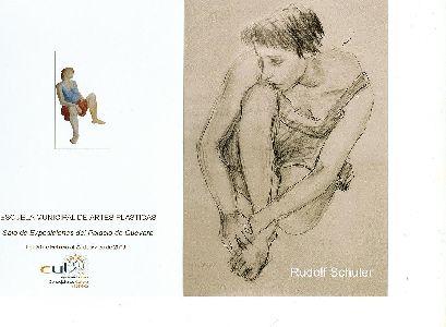 El artista alemán Rudolf Schuler expondrá en el Palacio de Guevara, desde el próximo viernes