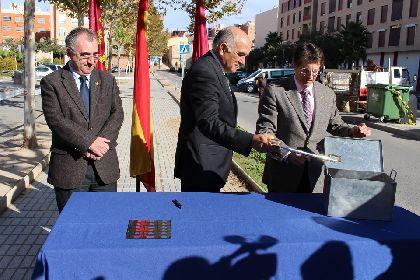 El Alcalde y el Presidente de la CARM dan inicio a las obras de mejora integral del barrio de San Diego