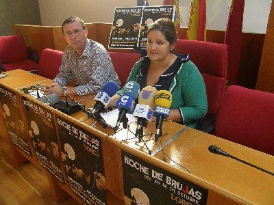 Huerto Ruano y la Fortaleza del Sol servirán de escenario para la celebración de representaciones de misterio para conmemorar la ''Noche de Brujas''