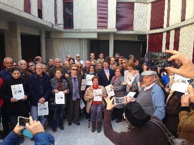 El Alcalde informa que el número total de viviendas que han completado su proceso de reconstrucción tras los terremotos de 2011 alcanza ya las 379