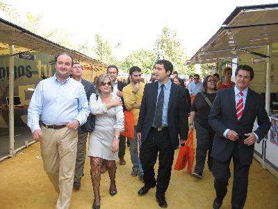 Arranca en Lorca la IX Feria de Participación Juvenil con más de 300 actividades