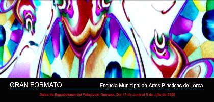 El Palacio de Guevara acoge desde mañana la exposición ?Gran Formato?, de los alumnos de la Escuela Municipal de Artes Plásticas de Lorca