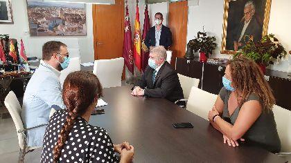 El alcalde de Lorca y el Delegado del Gobierno tratan la llegada del AVE y el Palacio de Justicia