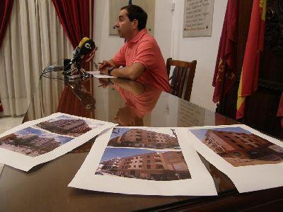El Ayuntamiento de Lorca concede la licencia de primera ocupaci�n a las 26 viviendas de los edificios Grial, Vendimia y Vi�a II, siendo ya 191 las que han terminado su reconstrucci�n
