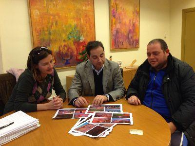 El Concejal de Urbanismo supervisa con el Presidente de la AAVV Alfonso X los �ltimos remates de las obras de mejora integral del barrio