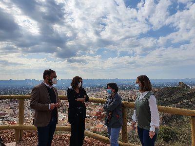 El Ayuntamiento de Lorca crea un nuevo sendero entre la ruta de San Lázaro y ''Los Pilones''