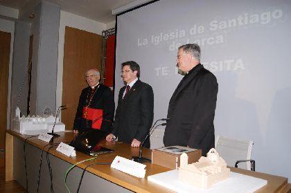 La Iglesia Católica rehabilitará los templos de Santiago y San Diego de Lorca, al tiempo que reconstruirá el de Cristo Rey