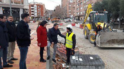 El Ayuntamiento anima a todos los lorquinos a participar en la inauguración de las obras de mejora integral de Alameda de Cervantes que será mañana viernes a las 18:00 h