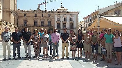 Lorca rinde tributo a Miguel Ángel Blanco, asesinado por ETA hace 18 años