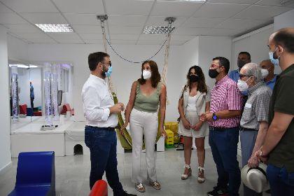 El alcalde de Lorca asiste a la clausura de la Escuela de Verano que la Asociación de Enfermedades Raras D´Genes