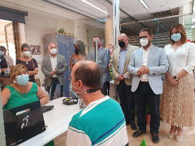 La Oficina de Registro de Lorca estrena un sistema de audiofrecuencia para personas con discapacidad auditiva
