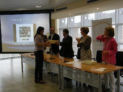 Francisco Jódar entrega a 180 desempleados lorquinos los diplomas de participación en 17 cursos de formación becada de la Concejalía de Empleo del Ayuntamiento de Lorca
