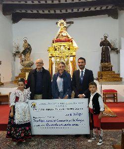Los Coros y Danzas Virgen de las Huertas logran 1.150 euros para la restauración del Camarín de la patrona de Lorca