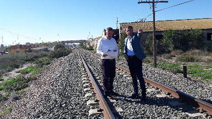 El Alcalde de Lorca reunirá a la Mesa del Soterramiento en los próximos días para analizar el estudio informativo de la integración del ferrocarril en la ciudad