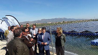 El Alcalde afirma que la capacidad de innovación y desarrollo de los agricultores lorquinos sitúa a Lorca como modelo de referencia también en aprovechamiento energético