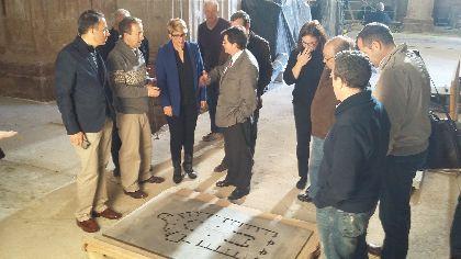 El Ayuntamiento ha conseguido hasta la fecha más de 500.000 euros para la recuperación del patrimonio dañado por los terremotos gracias al mecenazgo de varias empresas