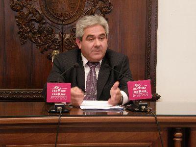 El Ayuntamiento de Lorca invertirá en 2009 más de 1,3 millones de euros para ampliar y mejorar la red de abastecimiento de agua