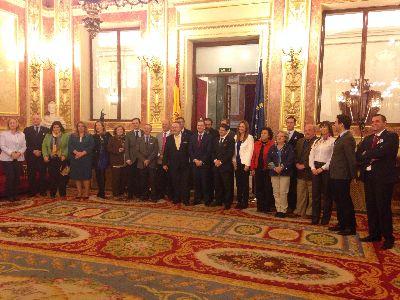 El Alcalde destaca que el respaldo del Congreso de los Diputados a la declaración del bordado como Patrimonio de la Humanidad supone un ''hito histórico'' para Lorca