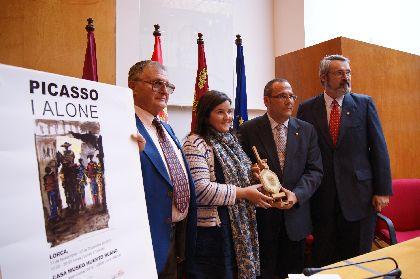 La exposición ''Picasso I alone'' prorroga su estancia en Lorca durante una semana más debido al interés que ha despertado