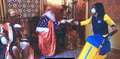 Los Reyes Magos dirigirán un mensaje especial a los niños de Lorca por televisión y varias plataformas digitales
