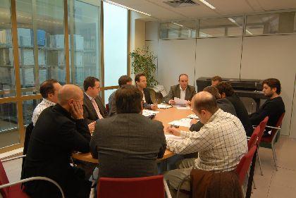 Ruiz Montalván mantiene una reunión con representantes de Adetic Guadalentín