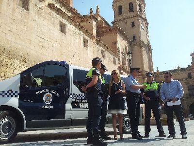La Polic�a Local establece itinerarios alternativos de tr�fico para facilitar el desmontaje de una gr�a en calle Rebolloso que tendr� lugar este domingo