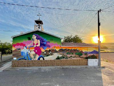 El Ayuntamiento de Lorca finaliza el proyecto ''Murales en las Pedanías Norte de Lorca''