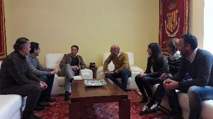 Los Alcaldes de Lorca y Huércal-Overa se reúnen para estrechar lazos entre ambas poblaciones y promover sinergias que beneficien a ambos municipios