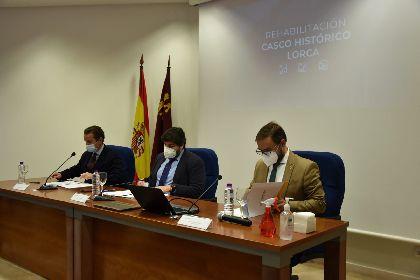 La Comisión de Seguimiento del Proyecto de Interés Regional del Casco Histórico de Lorca retoma su actividad