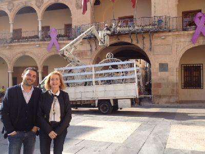 El Ayuntamiento de Lorca programa actividades de dinamización de las principales calles comerciales con motivo del encendido mañana de las luces de Navidad