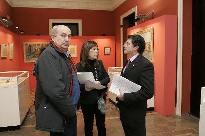 El Huerto Ruano acoge desde hoy y hasta el 15 de marzo la exposición ?Muñoz Barberán, dibujos y bocetos?